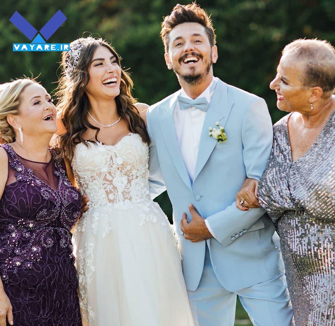 عروسی دنیز بایسال و دنیز بایسال و باریش یارتسو